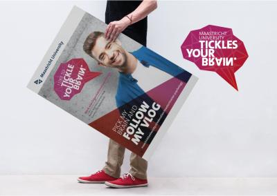 Campagne, beeldmerk en diverse uitingen - Maasticht Universiteit