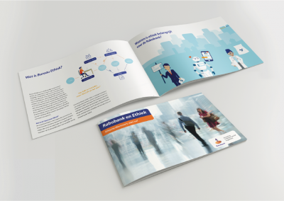 Brochure met illustraties - Rabobank
