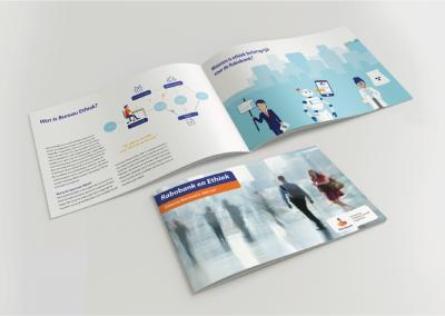 Brochure met illustraties - Rabobank